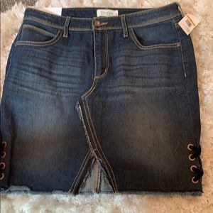 Jessica Simpson Denim Skirt NWT Size 29